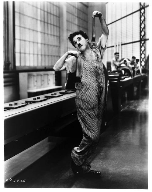 Chaplin – Les Temps modernes