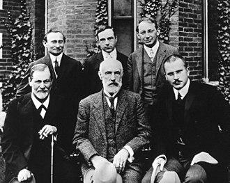 Freud, Jung, etc. – Clark University, 1909